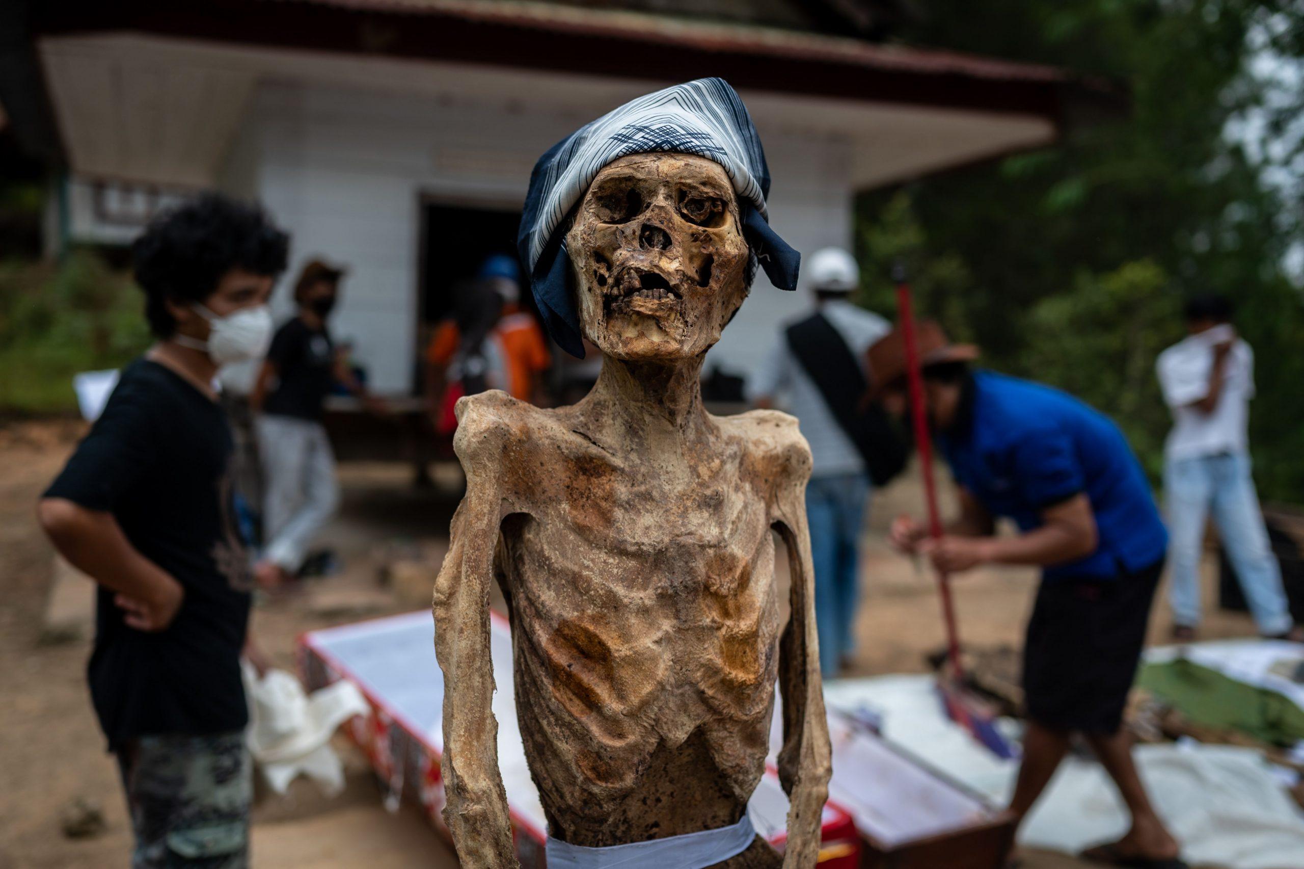 Manene Death Ritual In Indonesia, Nort Toraja, South sulawesi - 25 Aug 2020  - Pothead Media