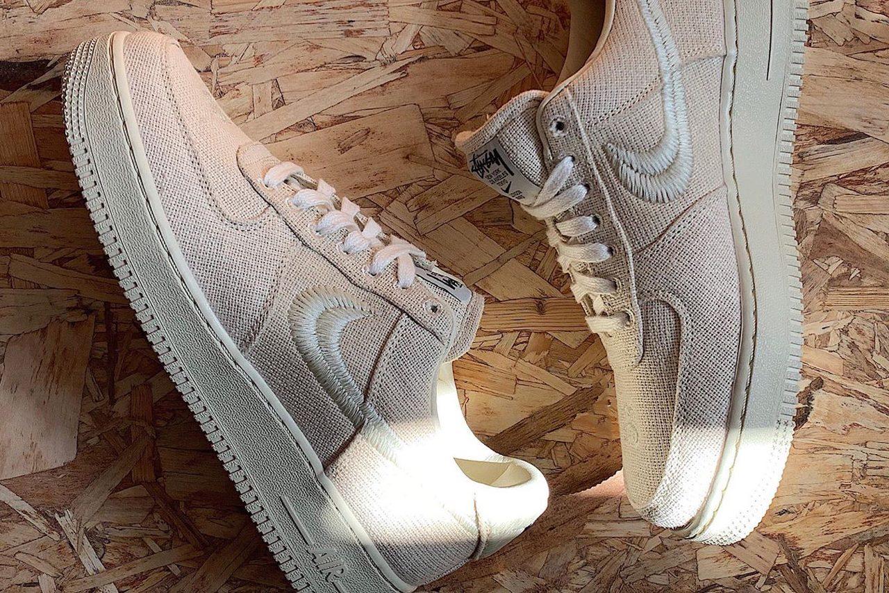 cultura Leyenda informal  Stüssy y Nike Lanzan Los Air Force 1
