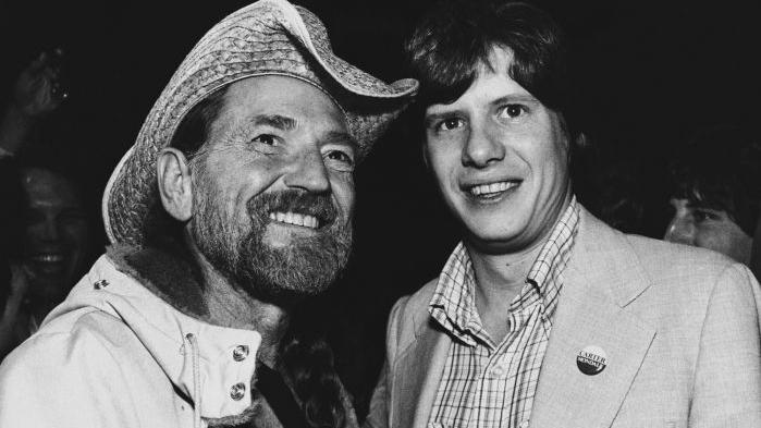 Willie Nelson y Chip Carter